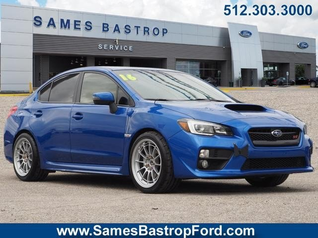 Pre Owned 2016 Subaru Wrx Sti Limited W Wing